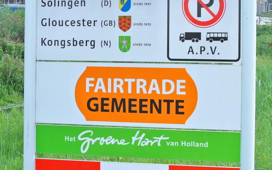 Fairtrade vast beleidsonderdeel van Gouda's gemeentebestuur