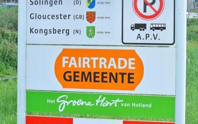 Gouda mag zich weer twee jaar Fairtradegemeente noemen