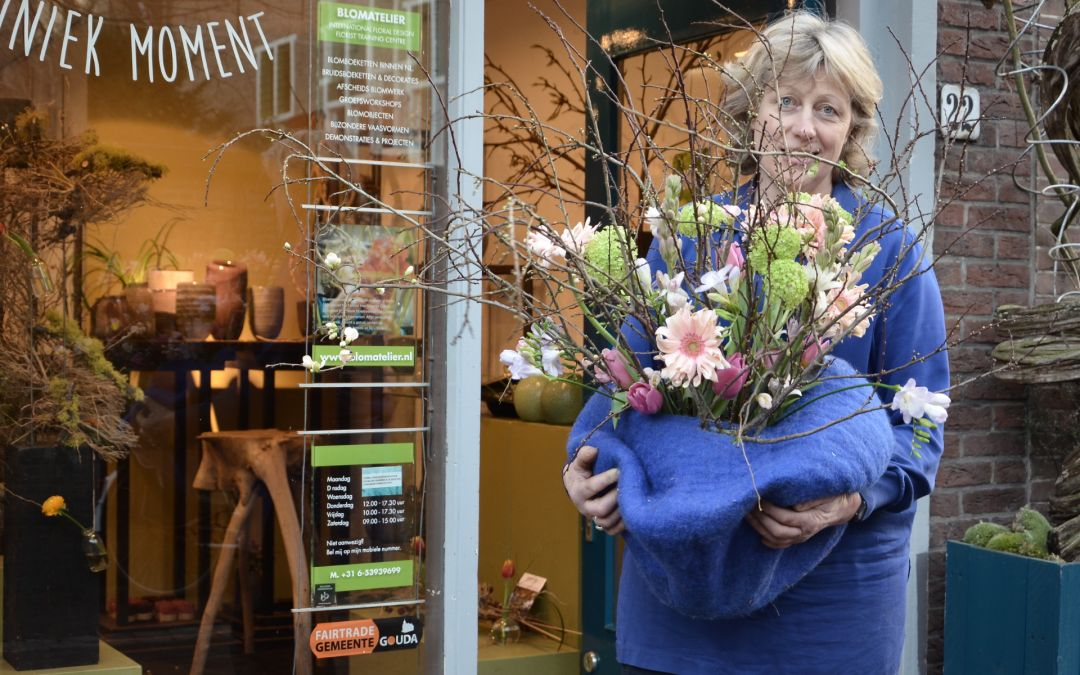 Blomatelier eigenaar Diny Blom: 'Fair trade zit in mijn DNA'